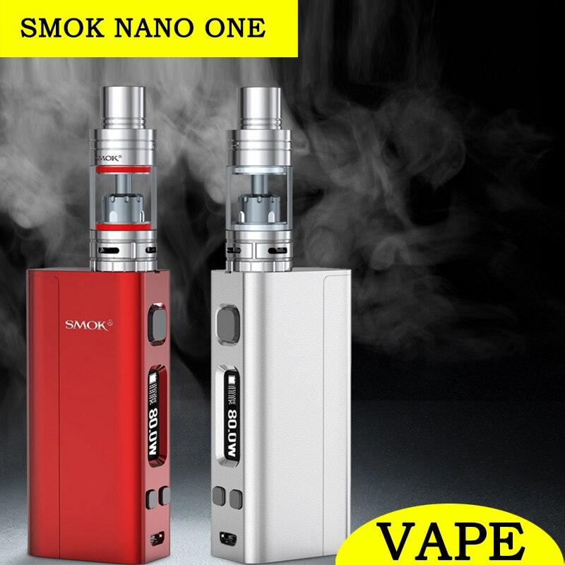 Original SMOK Nano One font b Vape b font 80W Box Mod Kit Electronic Cigarette Nano