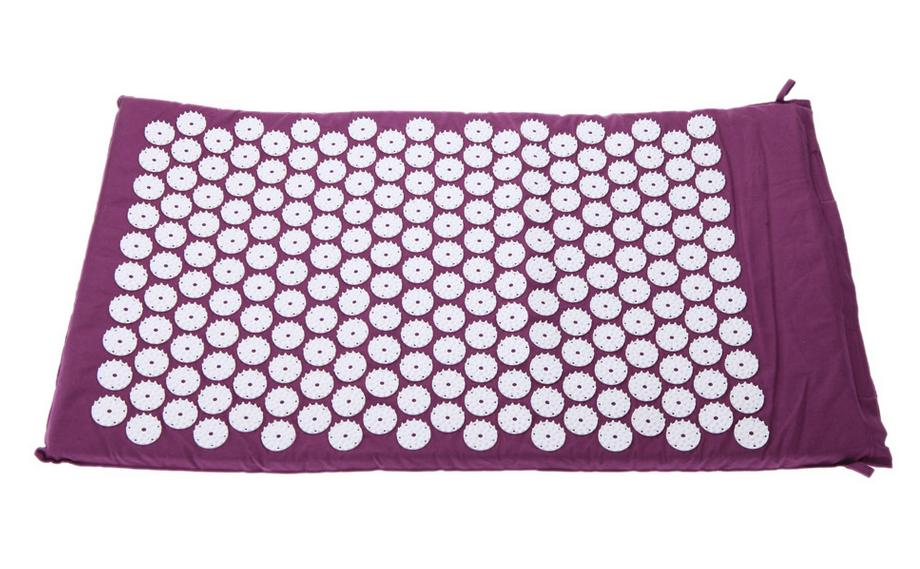 Acupressure Massager Mat Cushion Relieve Stress Pain Acupuncture Spike Yoga Mat Pads Head Massage Pillow Body Relaxation hot acupressure spike yoga pillow mat relieve stress pain relief acupuncture cushion neck back shakti massager body relax