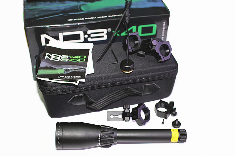 Hunterking ND3 X40 ND 40 Long Distance Green Laser Designator w/ Adjustable Scope Mount