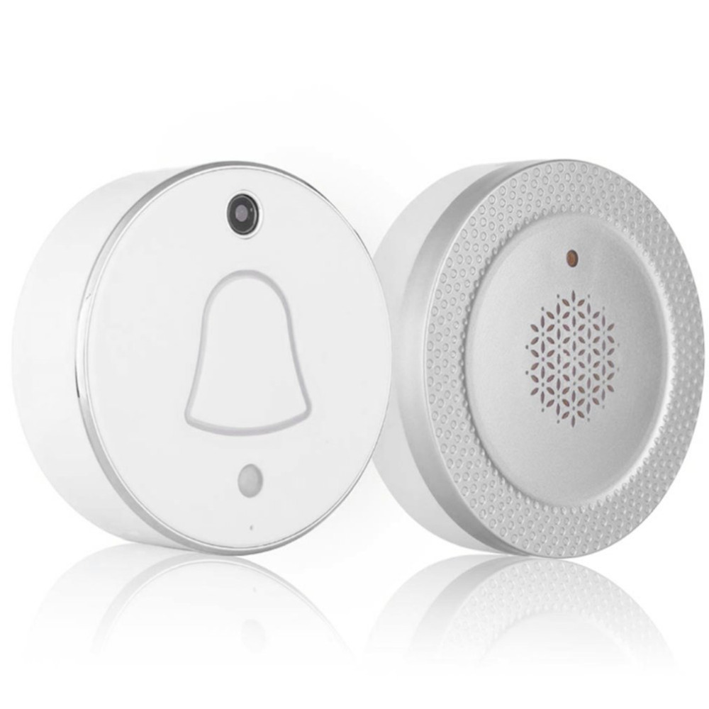 Smart Wireless WiFi Enabled Camera Door Phone Visible Doorbell 90 Degrees Wide Angle 480*320 Pixel Home SecuritySmart Wireless WiFi Enabled Camera Door Phone Visible Doorbell 90 Degrees Wide Angle 480*320 Pixel Home Security