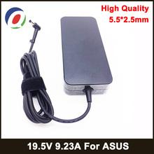 Oryginalny 180W 19 5V 9 23A Adapter do laptopa Asus ROG G75 G75VW GL502VTGL502V G75VX GL502 G750JMN ładowarka do gier zasilacz tanie tanio QINERN CN (pochodzenie) 19 5 v Other Dla asus SA-1805525 Square Charger For ASUS Portable Charger For ASUS Portable Adapter For ASUS