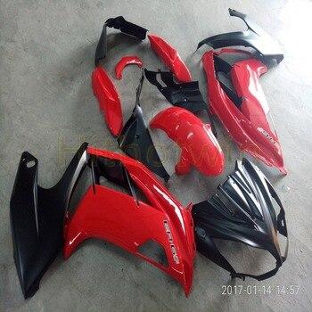 Custom+Screws red black motorcycle fairing for 650R ER-6F 2012 2013 2014 2015 ER6F Full fairing kits