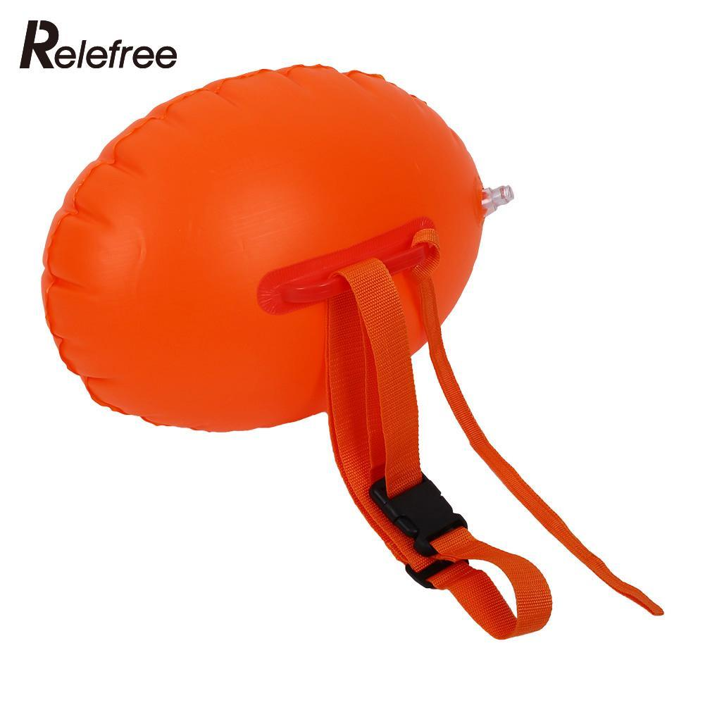 Safety Swimming Security Inflatable Float Inflated Buoy Flotation PVC Ball Airbag For Open Water Sea Pool Swim Sports Device