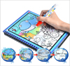New Magic Kids Water Drawing Book With 1 Magic Pen Intimate Coloring Book Water Animals Painting