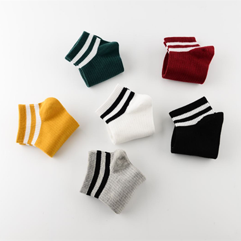 2019 New Hot Fashion Stripe Cotton Socks Female Kawaii Summer Short Socks Slippers Women Casual Soft Funny Boat Socks