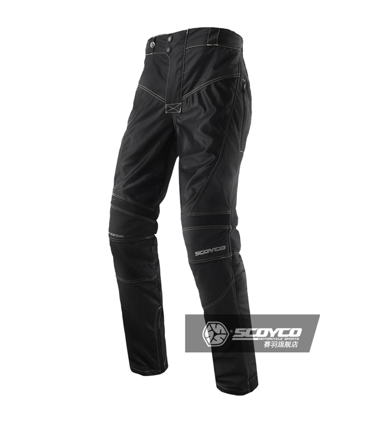 Scoyco P017-2 Men's Summer Auto Motorcycle Racing Pants Off Road Motocross Protective Gear Sports Trousers Sportswear Clothing scoyco mens motorcycle pants racing trousers winter summer p028