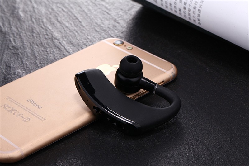 Handsfree business bluetooth headset with mic voice control wireless bluetooth headphone for sports noise cancelling earphone (5)
