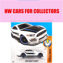 2017 Hot Wheels 1:64 White Ford Shelby GT350R Metal Diecast Cars Collection Kids Toys Vehicle For Children Juguetes(China)