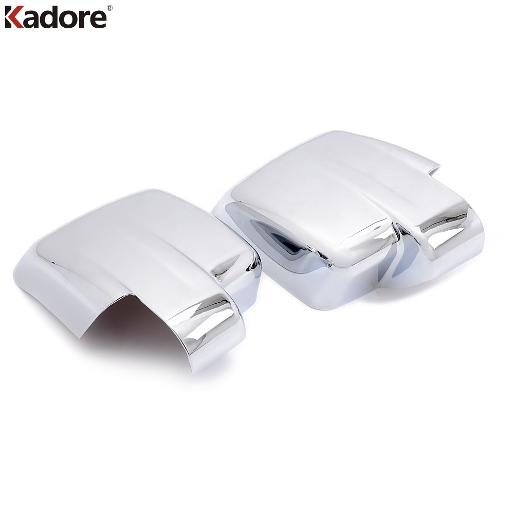 For Jeep Patriot 2007 2008 2009 2010 2011 2012 2013 2014 2015 2016 2017 Chrome Side Door Mirror Caps Cover Trim Car Accessories 2 pieces car styling door side rearview mirror cover trim abs for subaru forester 2009 2010 2011 2012