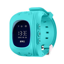 Q50 GPS Good Child Protected SmartWatch SOS Name Location Finder Locator Tracker for Youngster Anti Misplaced Monitor Child Son Wristwatch
