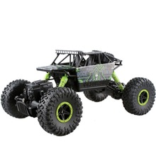 RC autó távirányító modell Off-Road jármű Toy kettős motorkerékpárok Bigfoot Rock Crawlers Rally Mászó fiúk ellenőrzött gép gyerek