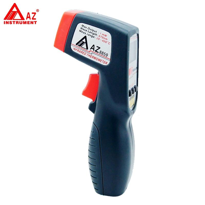 AZ-8859 Digital Gun Type IR Thermometer tpi 306c 40 150 pen type digital thermometer