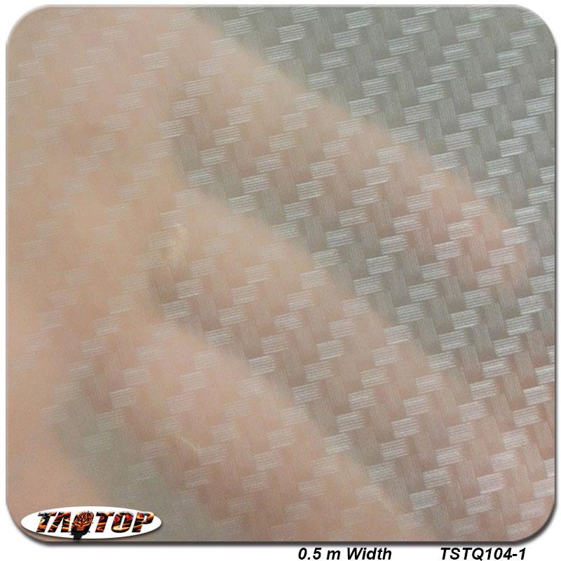 TSTQ104-1 0.5m * 2m Carbon Fiber Populär Mönster PVA Vattenöverföring Utskrift Filmhydrografisk doppfilm