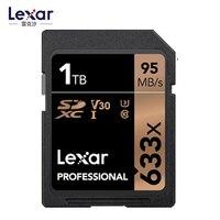 Карты Lexar Professional 633x128 GB 256 GB SDXC UHS-I SD карты 1 ТБ 512 GB высокое Ёмкость карты памяти