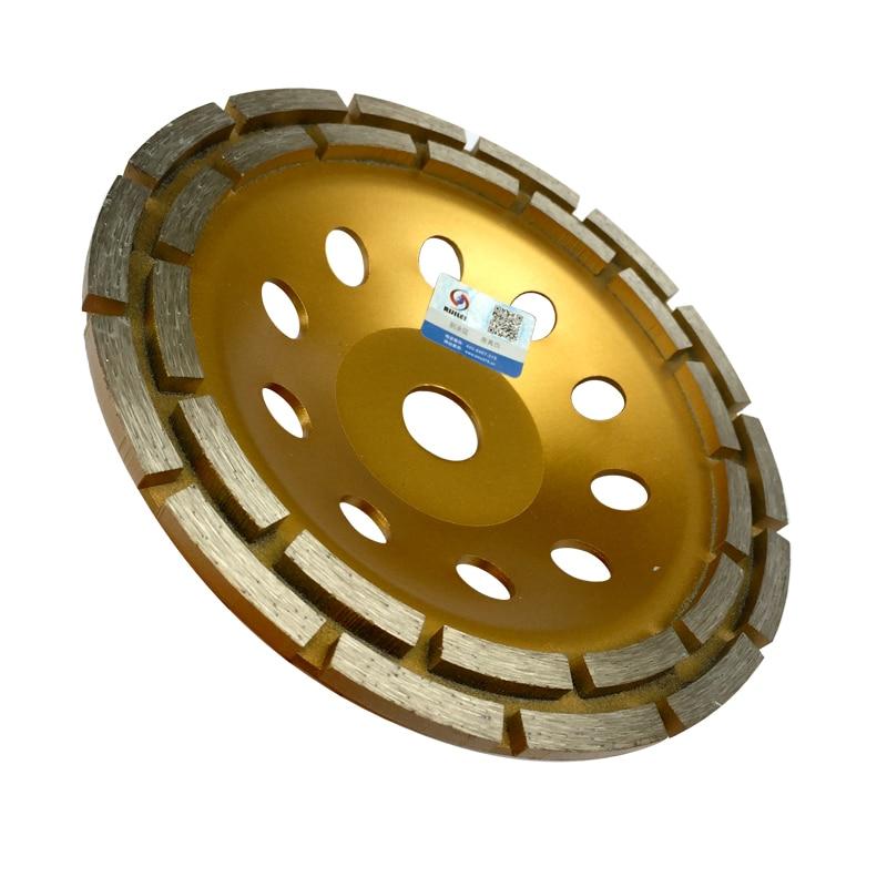 7 colių dvigubos eilės deimantinio šlifavimo disko diskai, 180 mm - Elektriniai įrankiai - Nuotrauka 3