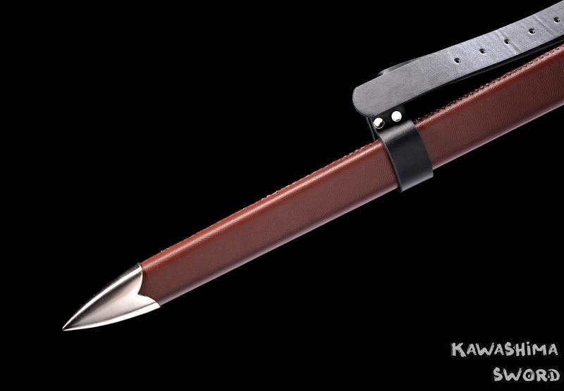 Orta əsr Qılınc Paslanmayan Polad Ciri'nin Bıçağı Replikası - Ev dekoru - Fotoqrafiya 6