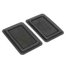 Hot 2pcs 60 x90mm DIY Speaker Low-frequency Radiator Vibration Plate Bass Passive Woofer