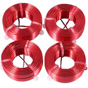 Image 2 - 1pcs 1.0mm 2.0mH 3.6mH Audio Amplifier Speaker Crossover Inductor 4N Oxygen Free Copper Wire Coil #Red
