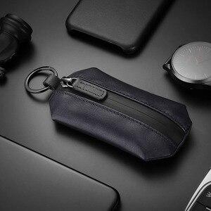 Image 5 - NewBring אמיתי עור מפתח ארנק מחזיק Scratchproof נעל רצועת סוכנת בית DIY חכם מפתח ארגונית