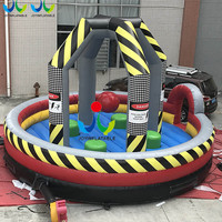 2018 Cheap Inflatable Rock Wrecking Ball for Team Sports,Inflatable Trampoline Sport Games for Four People on Sales
