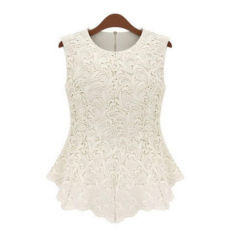 Popular White Lace Blouse Vintage-Buy Cheap White Lace Blouse ...