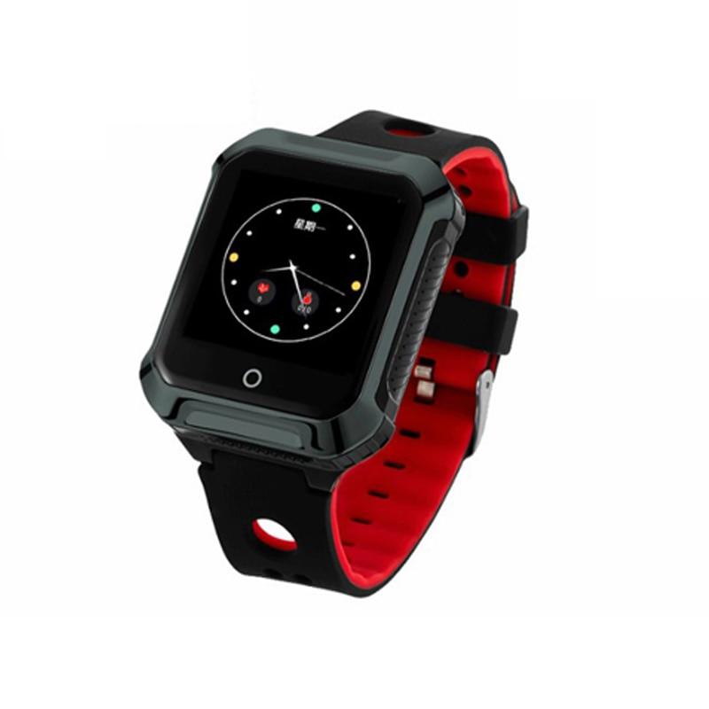 Купить с кэшбэком 2018 Top Fall dwon alarm GPS Tracker sos panic button gsm gprs Smart Watch gps tracker Heart Rate and Blood Pressure