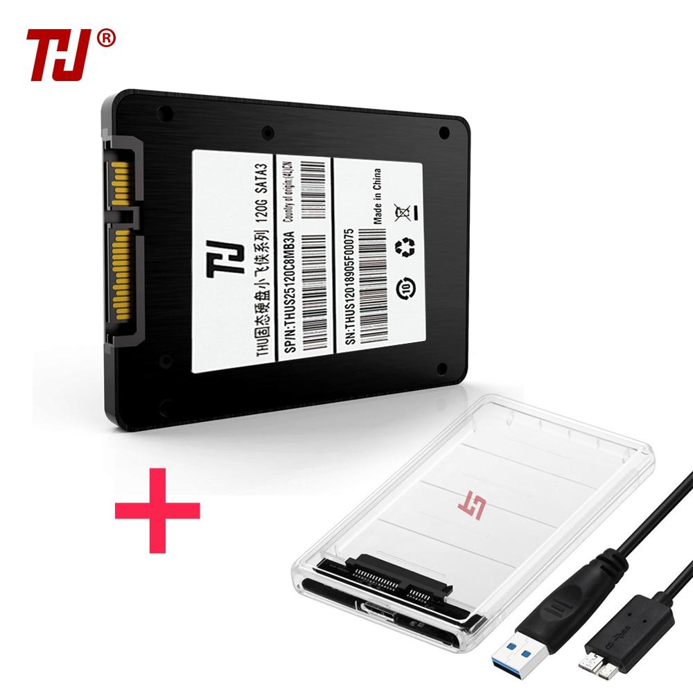 "THU SSD DISK HDD 2.5"" SATA3 SSD 120GB SATA III 7mm Internal Solid State Drive For Desktop Laptop PC"