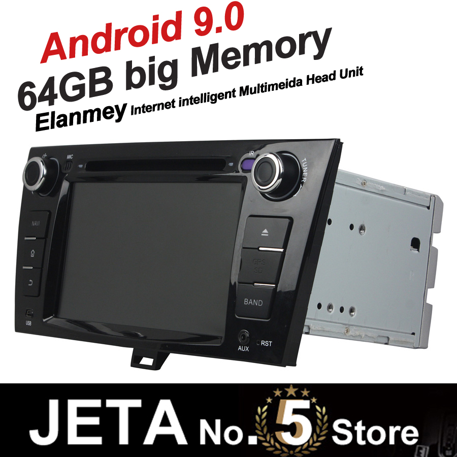 Fit for JAC J5 B15 Car Radio GPS Music player tape recorder Android 9.0 64GB big memory DSP equalizer IPS touch screen image