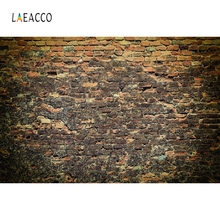 Laeacco Retro Brick Wall Vintage Baby Portrait Photography Backgrounds Customized Photographic Backdrops For Photo Studio