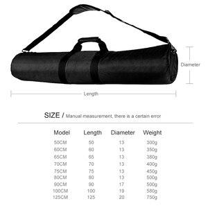 Image 2 - 60/65/70/75/80/100/125cm wyściełana kamera Monopod statyw torba do przenoszenia Case/lekki statyw torba do noszenia/parasol Softbox torba do przenoszenia