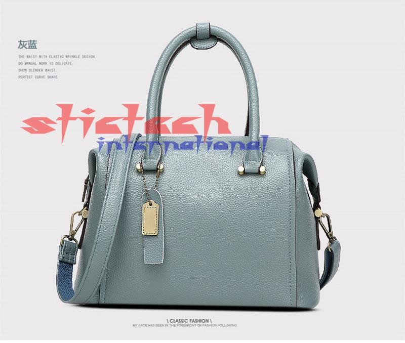 Handbag Shoulder Messenger-Bag New Boston Pu 50pcs United-States The Female Or Dhl by