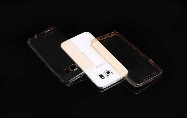 Модный 360 полностью защищающий сенсорный чехол для samsung Galaxy Note 9 прозрачный мягкий ТПУ Передняя Задняя крышка чехол для Galaxy Note 9