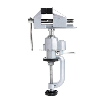 Hot Mini Clamp-On Table Bench Jewellers Hobby Craft Vice Rotated Repair Tool -B119