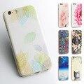 Фрукты Цветок Кактуса 3D Рельеф Silicone Case For iphone 7 7 plus для iphone 5s 5 SE 6 6 s 6 plus Case TPU Case Дейзи Телефон Case