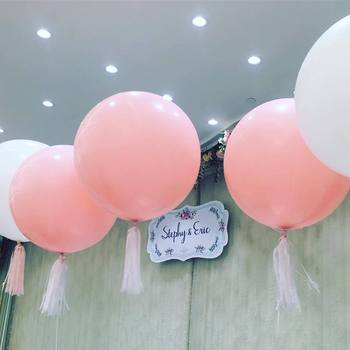 50pcs/lot 36 inch Giant Big Latex Air Balloons Birthday Party Decoration Latex Balloons Wedding decoration Globos Balony