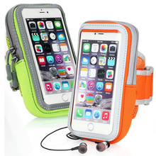 5.5 inch Phone Cases Sport Armband Arm Band Belt Cover Running GYM Bag Case For iPhone 6 7 6S PLUS Mobile Phone