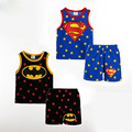 Children Suit 2017 Summer Newborn Baby Boys Infant Clothes Boys Casual Top T-Shirt Sleeveless Cotton Baby Clothing Sets Suit Boy