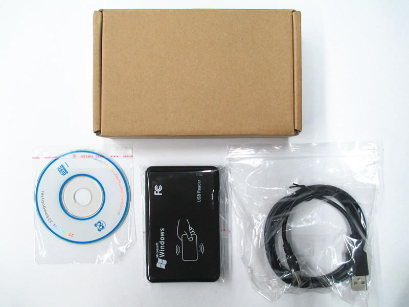 New USB 125khz RFID Reader & Writer ID card Copier duplicate copier tag & KeyFob COPY EM4100 EM4102 Proximity T5577 2 software