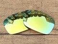 Polycarbonate-24K Золотое Зеркало Замена Линзы Для Hijinx Солнцезащитные Очки Кадров 100% UVA и UVB Защиты