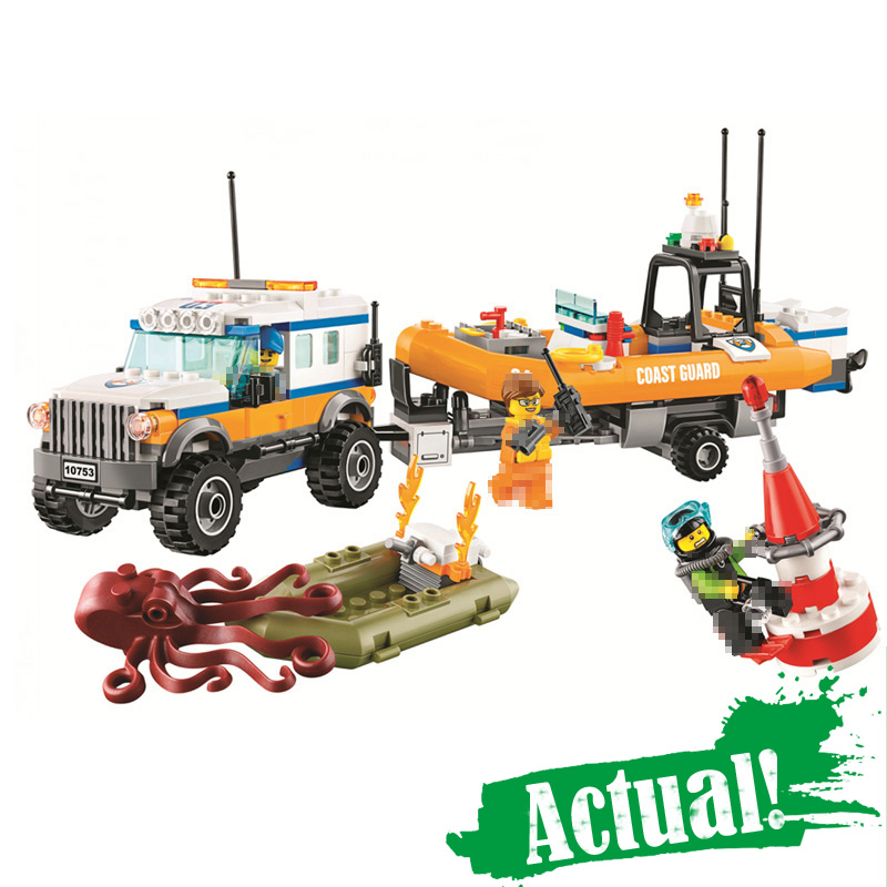 Bela 02067 367PCS City Series 4 x 4 Response Unit Building Blocks Bricks Educational Toys for Children gifts legoINGly 60165