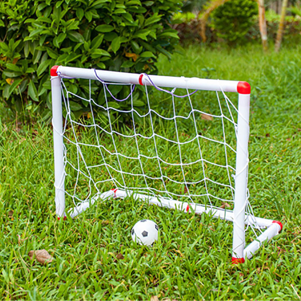soccer toy set kids football frame combination outdoor indoor sports game excellent gift for boys