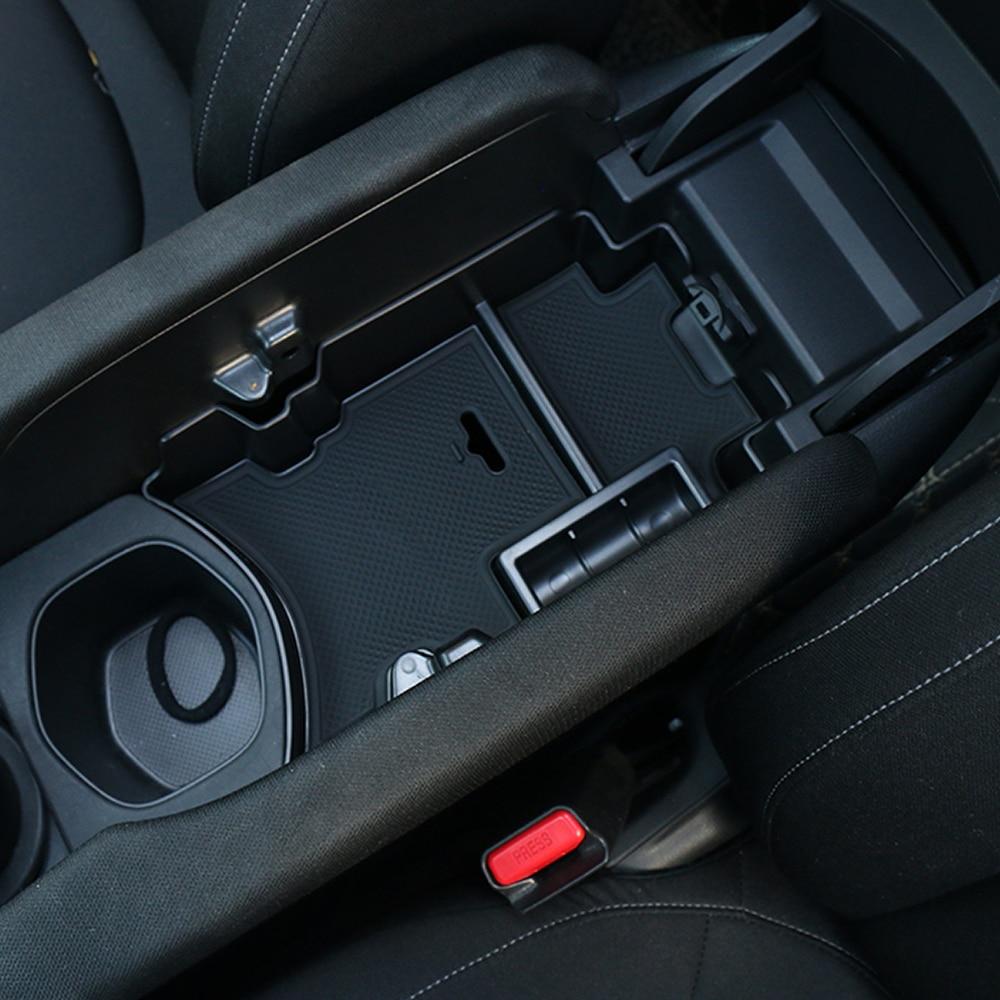 Center Console Armrest Storage Box Organizer Tray For Honda Civic 10th 2016-2018