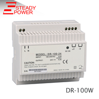 Steady CE Approved DR 100 15 Casino Power Supply 100W DIN Rail