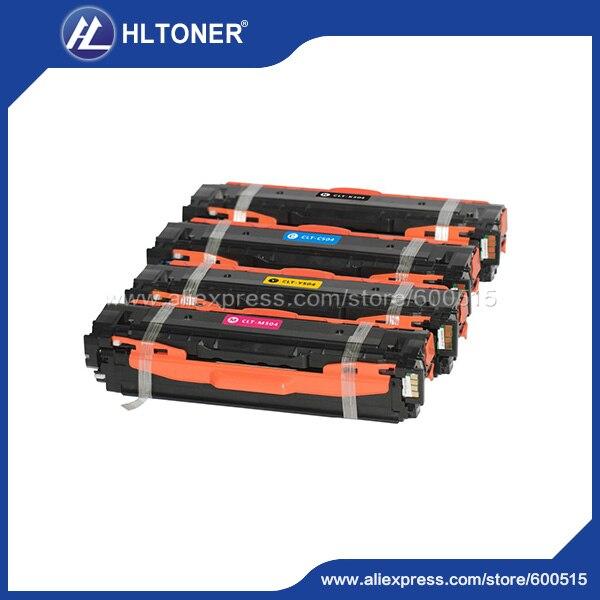 4PK Compatible Toner Cartridge Samsung CLT 504 For Samsung CLP-415N CLP-415NW CLP-470 CLP-475 CLX-4195 CLX-4195N 4195FN 4195FW