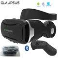 2017 Последним VR Очки Shinecon 4.0 Виртуальной Реальности 3D Google картон VR КОРОБКА с Оригинальным Bluetooth Гарнитура Для Смартфонов
