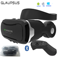 2017 Newest VR Glasses Shinecon 4.0 Virtual Reality 3D Google cardboard VR BOX with Original Bluetooth Headset For Smartphones