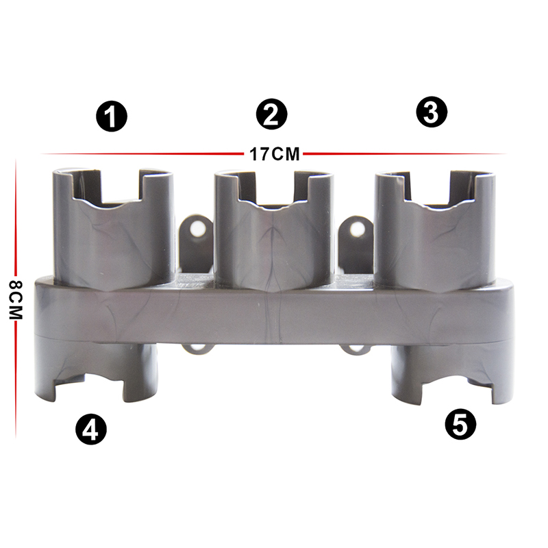 1 piece for Dyson V7 V8 V10 vacuum cleaner spare parts absolute brush bracket for overhead deck art nozzle main dock station in Vacuum Cleaner Parts from Home Appliances