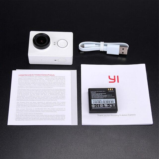 [International Edition]Original Xiaomi YI Action Camera Xiaoyi 1080P Sports Camera WiFi 3D Noise Reduction 16MP 60FPS Ambarella 4