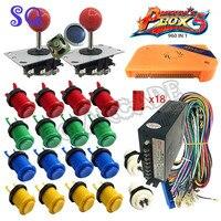 Arcade parts Bundles kit pandora box 5 arcade 960 in 1 arcade console controller VGA/HDMI with 28mm mounting hole buttons