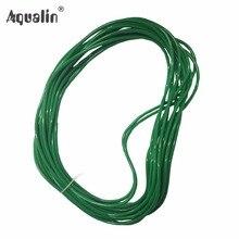10 м длина зеленая виниловая труба, шланг для 22018 садовой системы капельного орошения#22018H